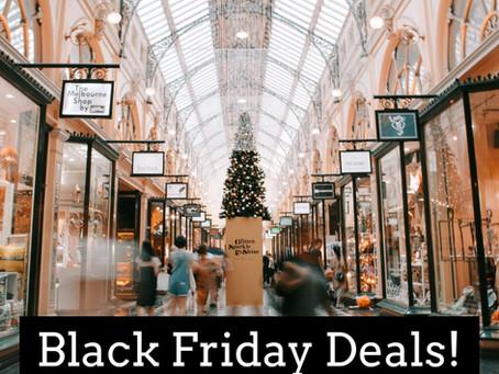 Black Friday Deals 2020 - Updated!