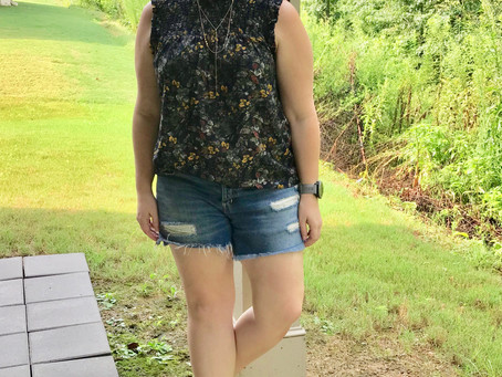 Nordstrom Sale Styling - Outfit One!
