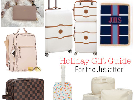 Holiday Gift Guide - For the Jetsetter