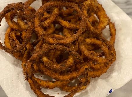 Homemade Onion Rings