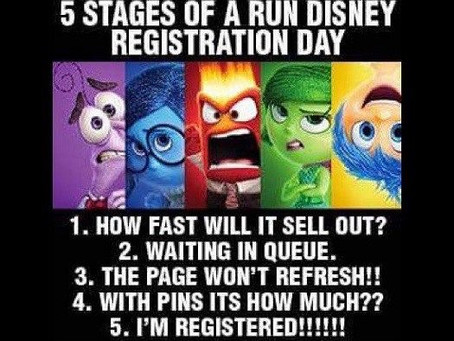 Run Disney Blog Series - Tips and Tricks for Registration!