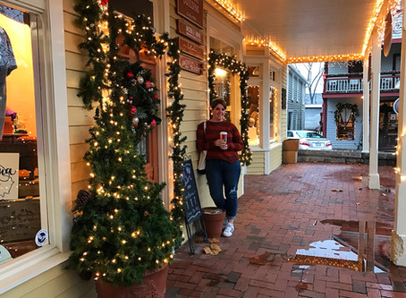 First Check on the Holiday Bucket List - Dahlonega's Old Fashioned Christmas