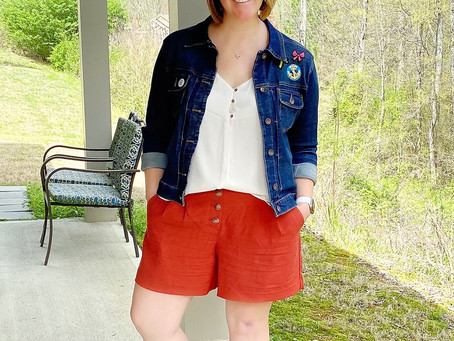 One Pair of Shorts, Styled Three Ways!