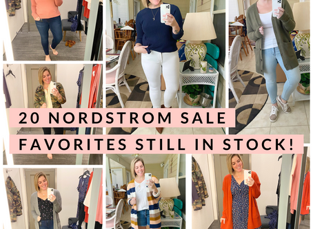 20 Nordstrom Sale Favorites Still In Stock!