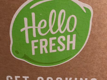 Hello Fresh Review - Meal One