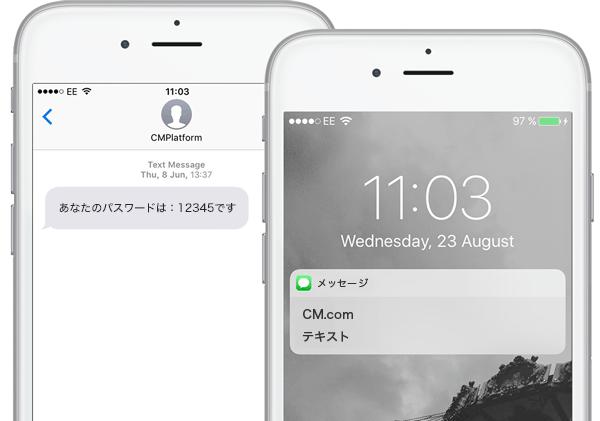 SMS認証ソリューション