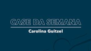 CASE: CAROLINA GUITZEL - IDENTIDADE VISUAL + LOGO + GRAVAÇÃO E EDIÇÃO DE CURSO