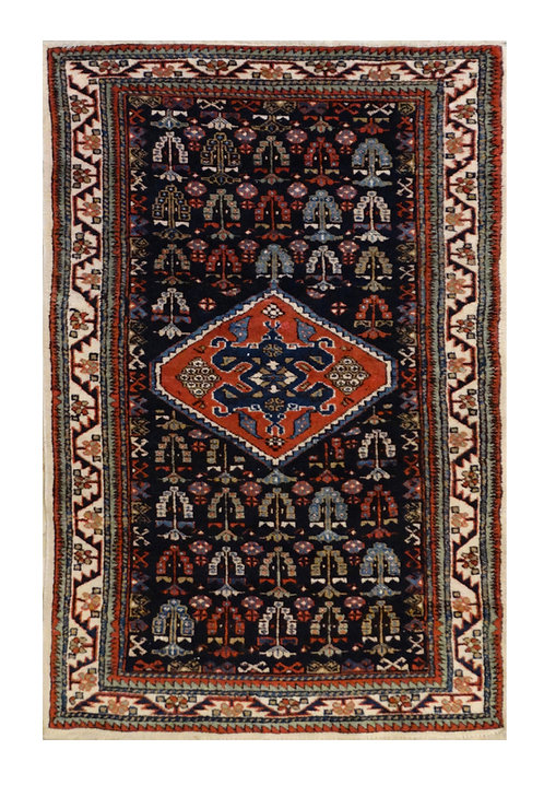 TAPPETO SHIRVAN AZERBAIJAN MIS:130X80 CM