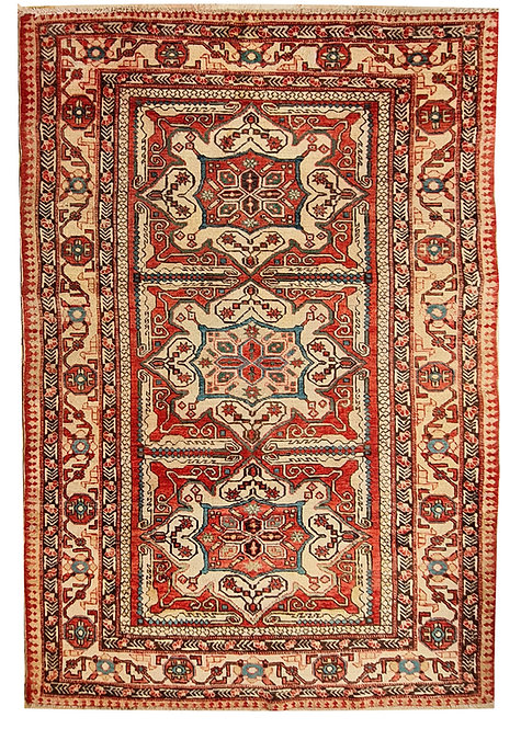 TAPPETO SHIRVAN AZERBAIJAN ANTICO MIS:170x108 CM