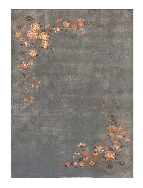 TAPPETO ART DECO VECCHIO Mis:272 x 180 cm