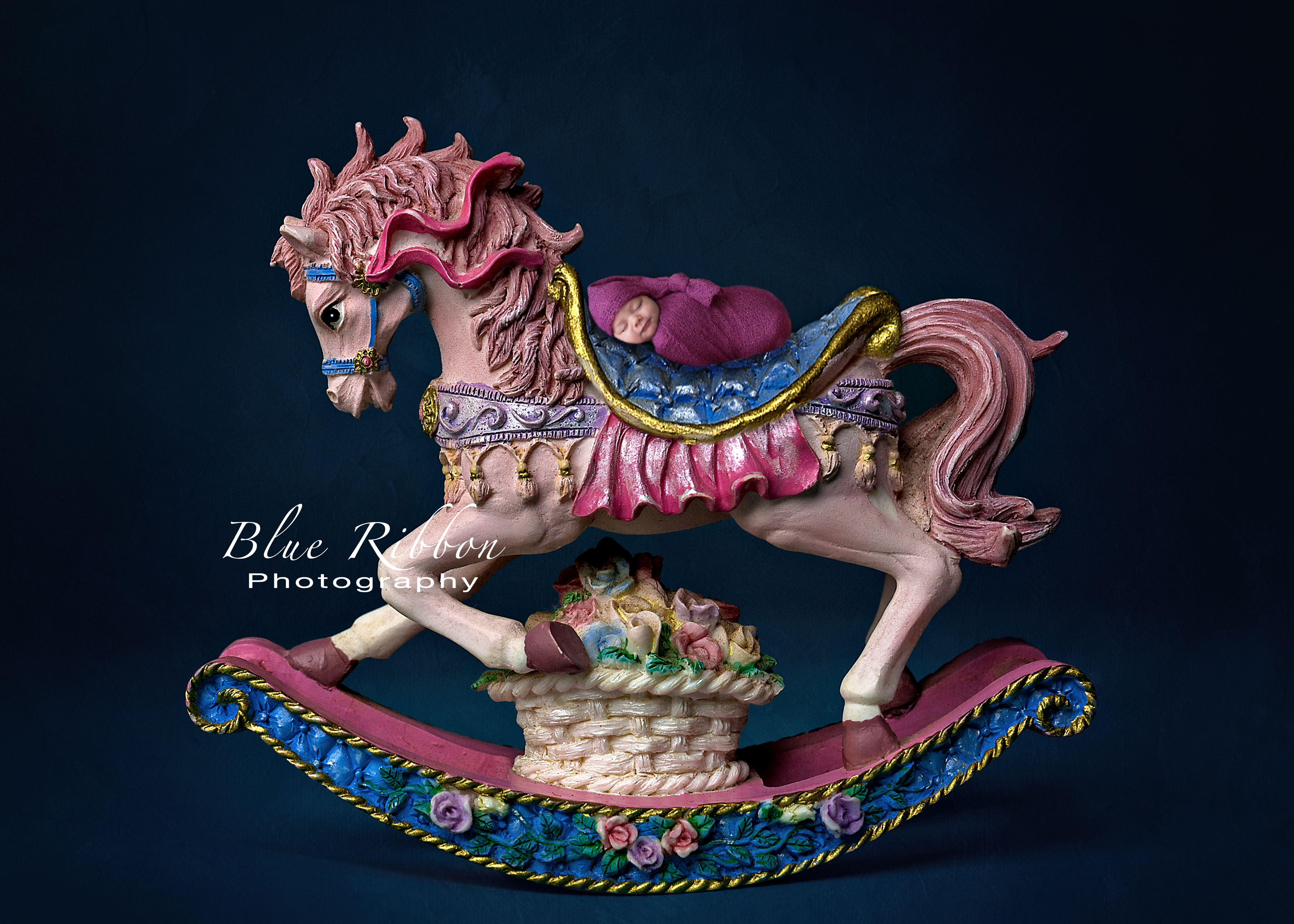 Zara pink horse copyright
