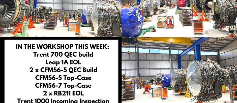 This week in the workshop....