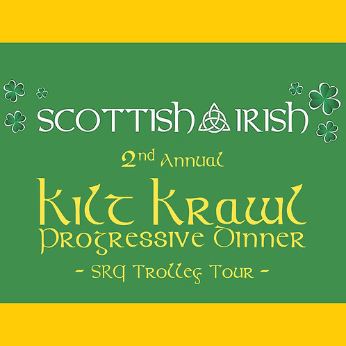 Kilt Krawl - Progressive Dinner