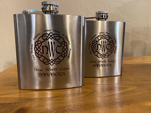 NWC Classic Pewter Flask