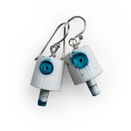Ruusa NY FAT Earrings - Turquoise