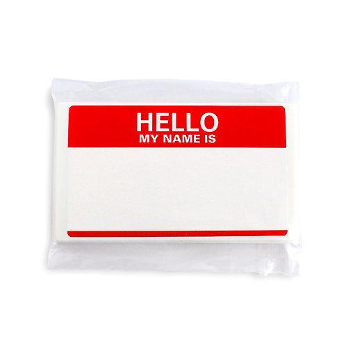 Scratch Hello Sticker - Fire