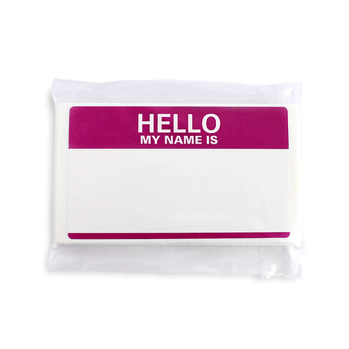Scratch Hello Sticker -Ruby