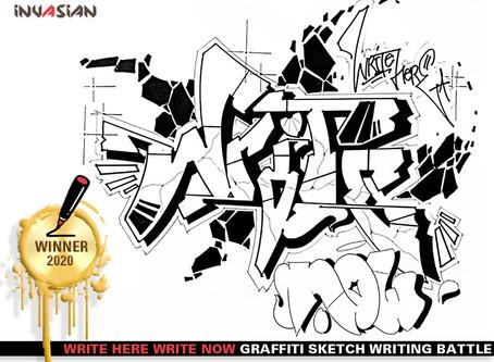 Write Here Write Now Winner