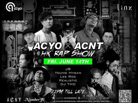 ACYO X ACNT HK Rap Show 2019