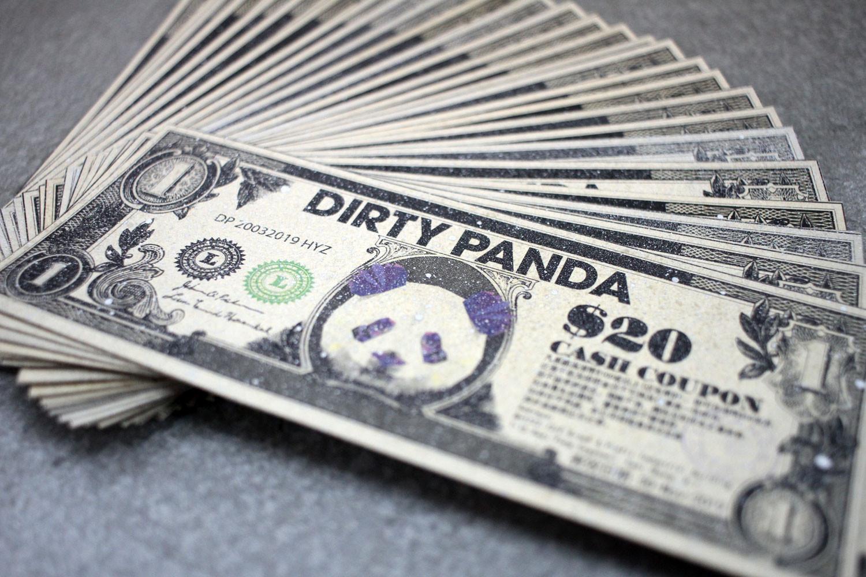 Invasian #6 Random Gift // Dirty Panda HK$20 Cash Coupon