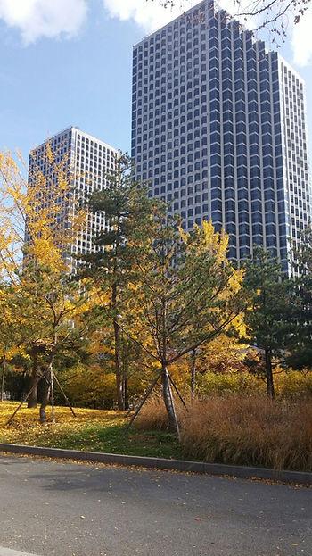 LG Twin Buildings Seoul Korea