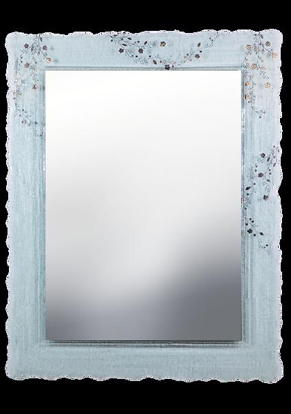 מסגרת זכוכית מסותת למראה שקועה 75*95