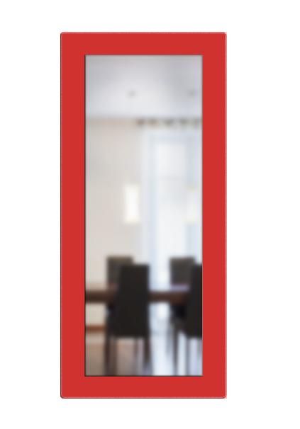 מסגרת זכוכית ישרה למראה צפה 35*90