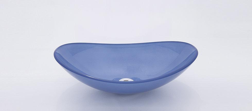 כיור זכוכית אובלי סירה גדול