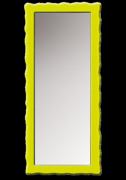 """מסגרת זכוכית מסותת למראה צפה עד 0.5 מ""""ר"""