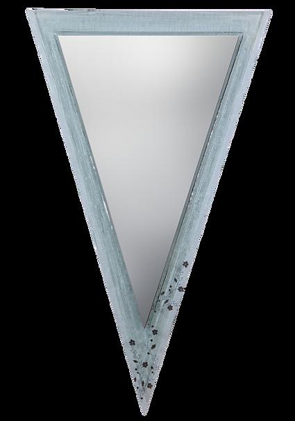מסגרת זכוכית משולשת למאה שקועה