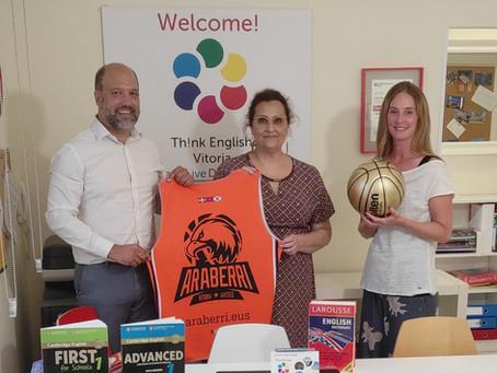 La academia Think English Vitoria nuevo patrocinador