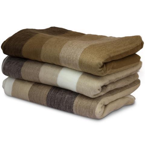 Plaids en laine Alpaga