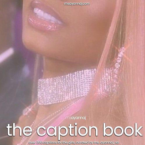 Ms. Ayanna J Caption Book