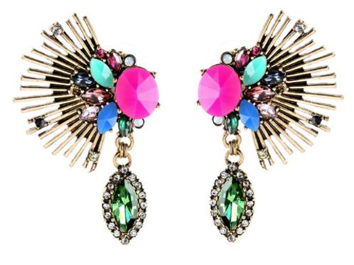 Pavo Earrings