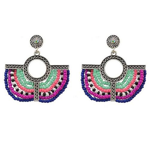Lunar Earrings in Multi