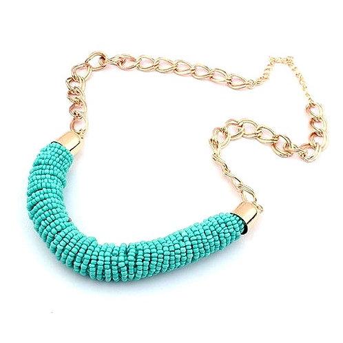 Noctua Necklace in Turquoise