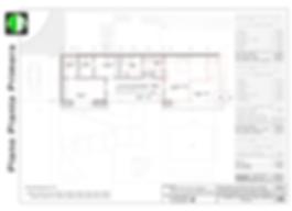 Chalet de lujo en Torrelodones - Plano de distribución Planta Primera