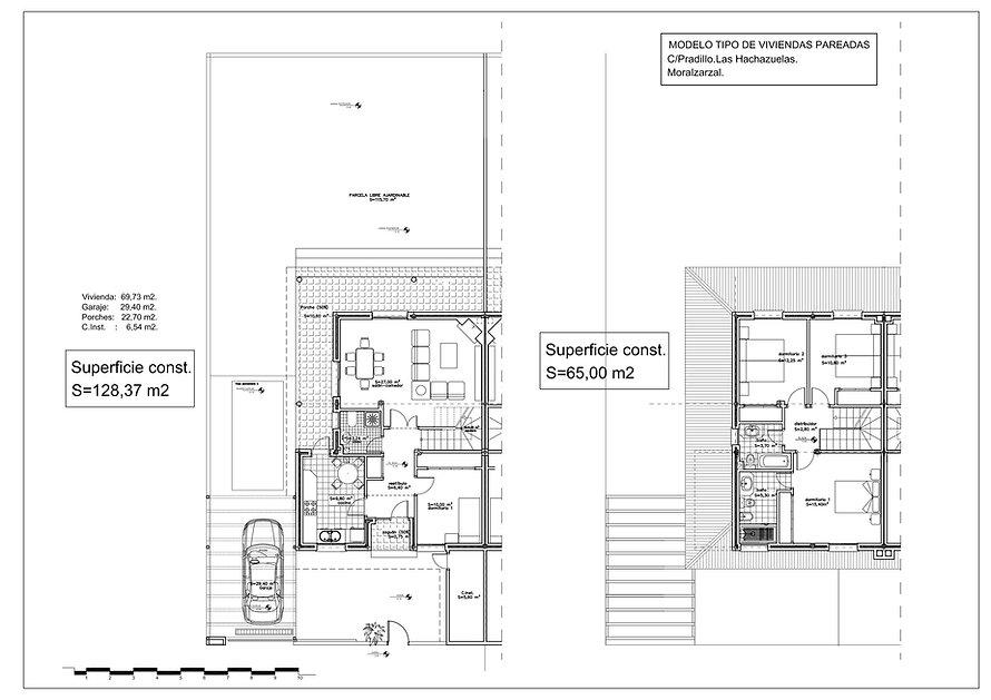 Residencial Pradillos (Moralzarzal) - Planos de distribución
