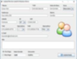 Formulário de cadastro cliente pf