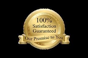 100 Percent Satisfaction Guarantee Badge