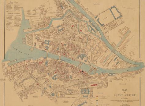 Analoge Geografische Informationssysteme in Zeiten von Seuchen: eine Trouvaille