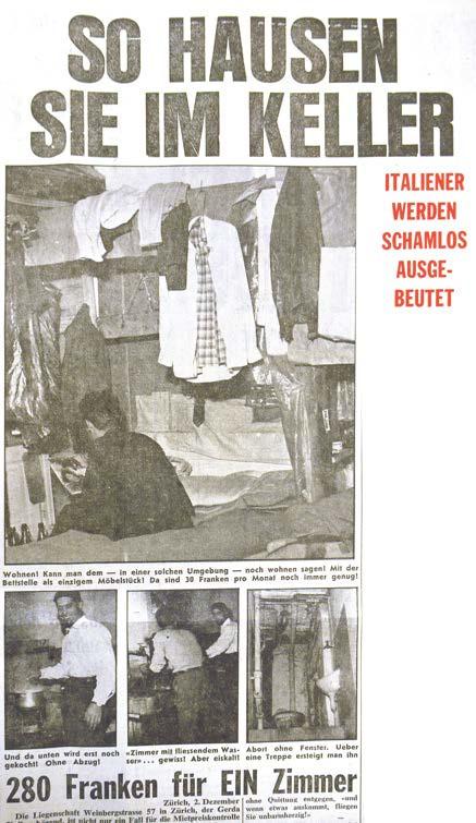 Italienerfalle im Jahre 1960