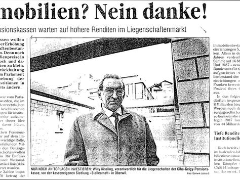 Alle Jahre wieder ... SNB orakelt und fischt im Trüben