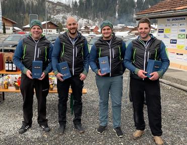 Das Siegerteam Lenk Gletscherbach
