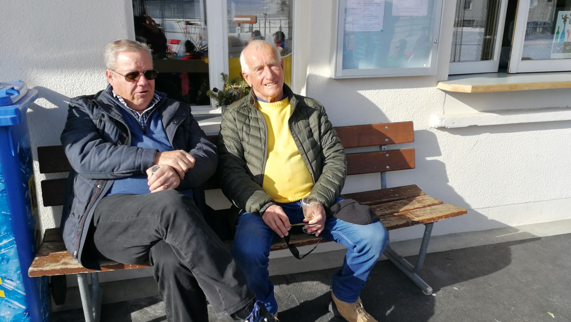 Hans Trachsel und Ueli Gygax
