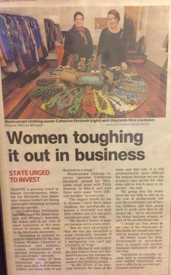 Women Toughing it out in Business