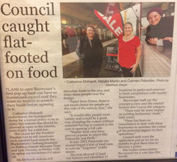 Council caught Flat-footed