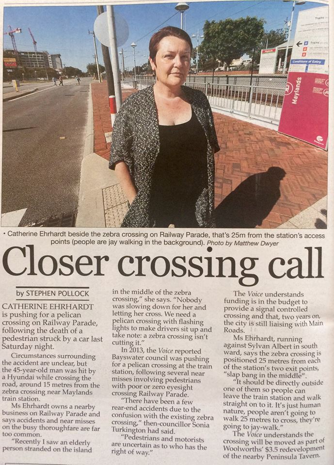 Closer Crossing Call - Sept 2015