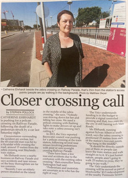 Closer Crossing Call - Sept 2015