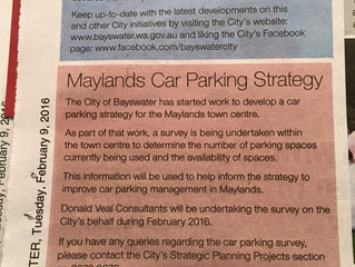 Maylands Car Parking Strategy